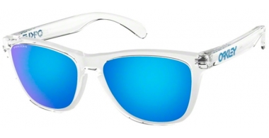 Sunglasses - Oakley - FROGSKINS OO9013 - 9013-D0 CRYSTAL CLEAR // PRIZM SAPPPHIRE