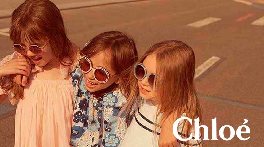 f637ce2bb7 Chloé Kids CE3614S CARLINA. Las gafas de sol ...