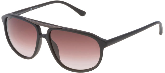 Gafas de Sol - Lozza - SL4081M ZILO BAR - 0703 MATTE BLACK    BROWN 12564d01e7db