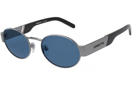 Sunglasses - Arnette - AN3081 LARS - 726/80 GUNMETAL BRUSHED // DARK BLUE