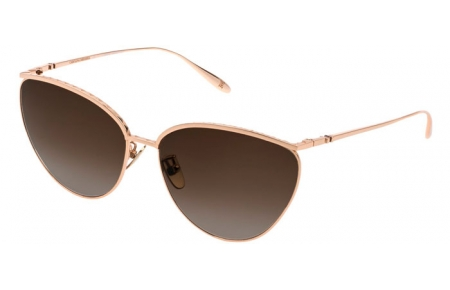 Sunglasses - Carolina Herrera New York - SHN069M - 0300  SHINY ROSE GOLD // BROWN GRADIENT