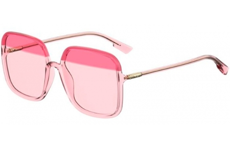 Sunglasses - Dior - SOSTELLAIRE1 - 0T5 (TX) BURGUNDY PINK // RED GRADIENT