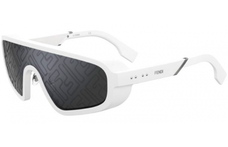 Sunglasses - Fendi - FF M0084/S - VK6 (MD) WHITE // GREY MS 1/3