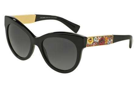 dc3a572d55 Gafas de Sol Dolce & Gabbana DG4215 MOSAICO 501/T3 BLACK // GREY ...
