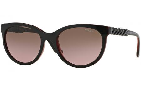 47dab190d2 Gafas de Sol - Vogue - VO2915S - 231214 TOP BROWN TRANSPARENT RED // PINK
