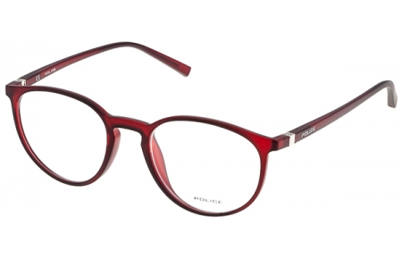Frames - Police - V1973 PERCEPTION 2 - 954M TRANSPARENT RED