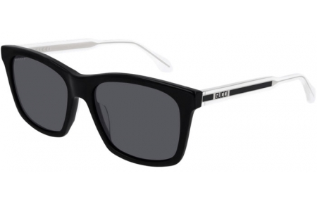 Sunglasses - Gucci - GG0558S - 002 BLACK // GREY POLARIZED