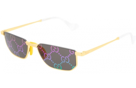 Sunglasses - Gucci - GG0627S - 002 GOLD // MULTICOLOR MIRROR