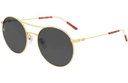 Sunglasses - Gucci - GG0680S - 001 GOLD // GREY