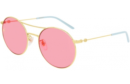 Sunglasses - Gucci - GG0680S - 004 GOLD // PINK
