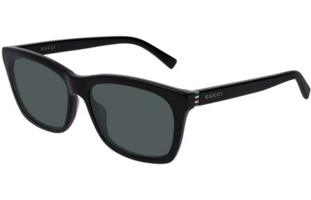 Sunglasses - Gucci - GG0449S - 002 BLACK // GREY
