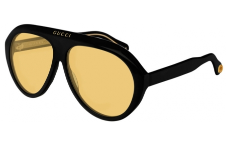 Sunglasses - Gucci - GG0479S - 002 BLACK // YELLOW