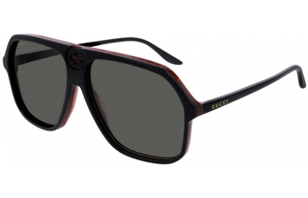 Sunglasses - Gucci - GG0734S - 001 BLACK // GREY