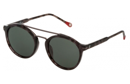 Sunglasses - Carolina Herrera - SHE807 - 0721  SHINY HAVANA // GREY GREEN