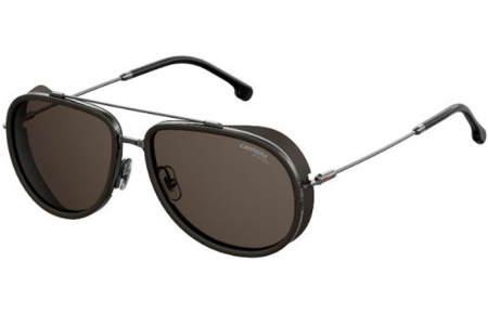 Sunglasses - Carrera - CARRERA 166/S - KJ1 (IR)  DARK RUTHENIUM // GREY
