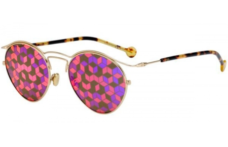 43170ffca9fb4 Gafas de Sol Dior DIORORIGINS1 06J (0Z) GOLD HAVANA    BROWN MIRROR ...