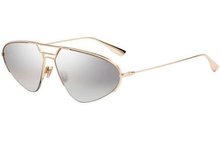 Sunglasses - Dior - DIORSTELLAIRE5 - J5G (0T)  GOLD // GREY SILVER MIRROR ANTIREFLECTION