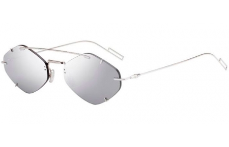 Sunglasses - Dior Homme - DIORINCLUSION - 010 (0T)  PALLADIUM // GREY SILVER MIRROR ANTIREFLECTION