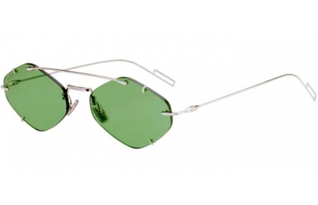 Sunglasses - Dior Homme - DIORINCLUSION - 010 (O7)  PALLADIUM // GREEN LIGHT GREEN ANTIREFLECTION