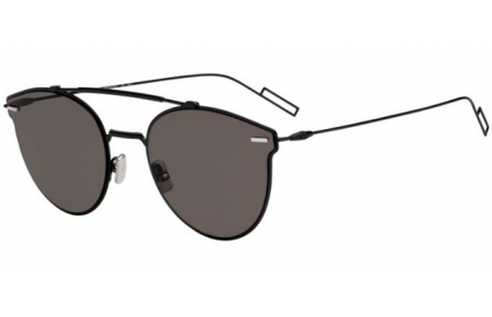 Sunglasses - Dior Homme - DIORPRESSURE - 807 (2K) BLACK // GREY ANTIREFLECTION