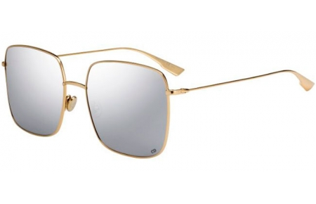 Sunglasses - Dior - DIORSTELLAIRE1 - 83I (0T) GOLD SILVER // GREY SILVER MULTILAYER ANTIREFLECTION