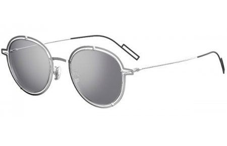 Sunglasses - Dior Homme - DIOR0210S - 010 (DC) PALLADIUM // EXTRA WHITE MULTILAYER