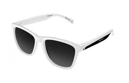 Sunglasses - Emoji - USHUAIA - SUN-7823 SHINE WHITE BICOLOR BLACK WHITE  //GREY BLACK POLARIZED