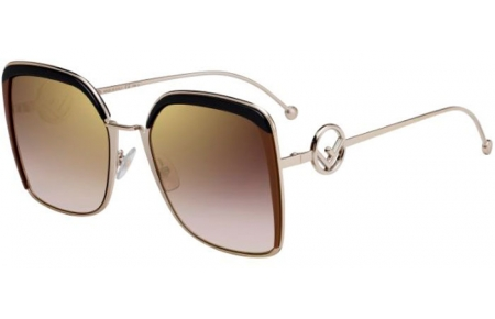 Sunglasses - Fendi - FF 0294/S - 09Q (JL)  BROWN // BROWN GRADIENT MIRROR