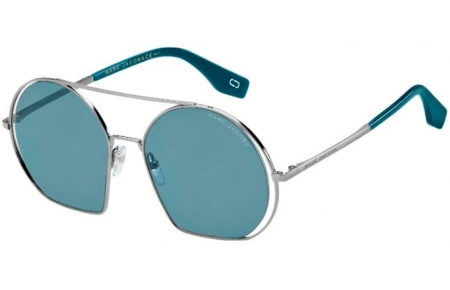 Sunglasses - Marc Jacobs - MARC 325/S - Y6I (KU) RUTHENIUM PETROLEUM // BLUE GREY