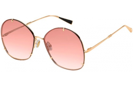 Sunglasses - MaxMara - MM HOOKS - DDB (9R) GOLD COPPER // PINK GRADIENT