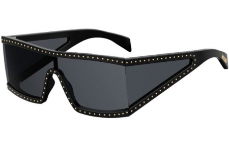 Sunglasses - Moschino - MOS004/S - 08A (IR) BLACK GREY // GREY