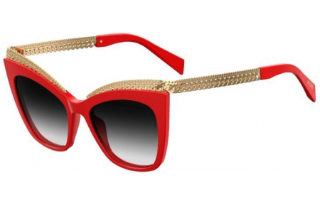 Sunglasses - Moschino - MOS009/S - C9A (9O)  RED // DARK GREY GRADIENT