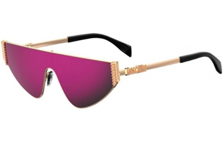 Sunglasses - Moschino - MOS022/S - 000 (VQ)  ROSE GOLD // PINK MULTILAYER