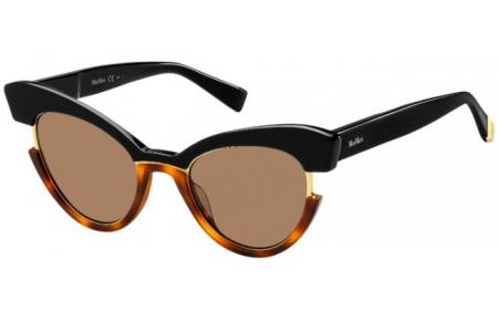Boutique en ligne cebe2 9843b Gafas de Sol - MaxMara - MM INGRID - WR7 (70) BLACK HAVANA // BROWN