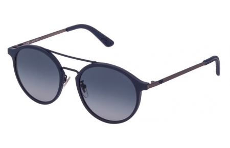 Sunglasses - Police - SPL782  - 06C9  RUBBER BLUE // GREY GRADIENT