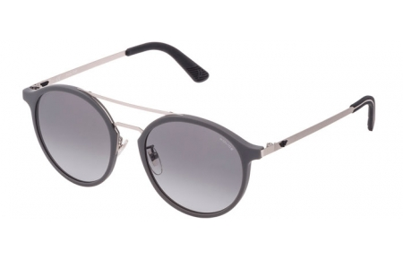 Sunglasses - Police - SPL782  - 09U5  RUBBER GREY // GREY GRADIENT