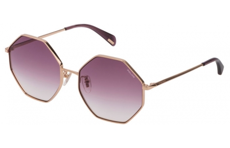 Sunglasses - Police - SPL837  - 300V  ROSE GOLD // VIOLET GRADIENT