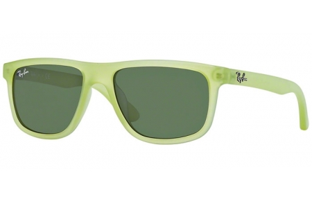Gafas Junior - Ray-Ban® Junior Collection - RJ9057S - 198/71 ACID GREEN DEMISHINY // GREEN
