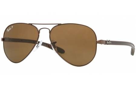 Ray Aviator Crystal ® Carbon Brown Ban Rb8307 Polarized Lunettes Soleil De 014n6 Fibre nwPO8kX0