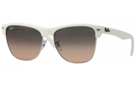 De Gradient Oversized Crystal Clubmaster Pink Soleil Ban® Rb4175 Silver Grey Demi Lunettes 879n1 Shiny White Ray trxsCBhQd