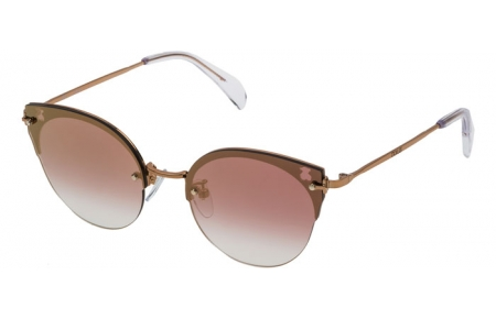 Sunglasses - Tous - STOA09 - 8FCG PINK GOLD // VIOLET MIRROR GOLD