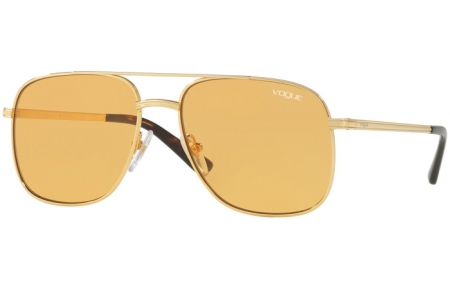 Sunglasses - Vogue - VO4083S BY GIGI HADID - 280/7 GOLD // ORANGE