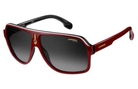 5840780abd Gafas de Sol Carrera CARRERA 1001/S 0A4 (9O) RED BLACK // DARK GREY ...
