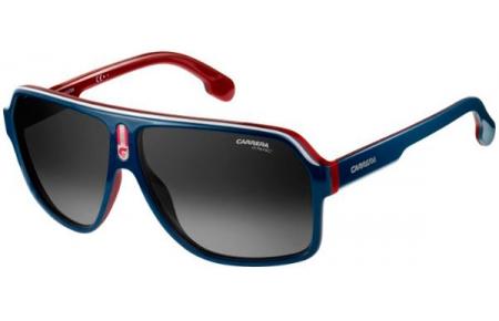 dbc7ad77f7b27 Gafas de Sol Carrera CARRERA 1001 S 8RU (9O) BLUE RED WHITE    DARK ...