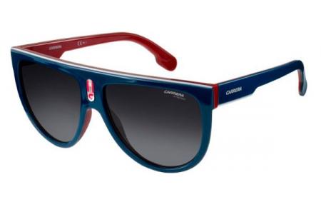 b1bb215bc4039 Gafas de Sol Carrera CARRERA FLAGTOP 8RU (9O) BLUE RED WHITE    DARK ...