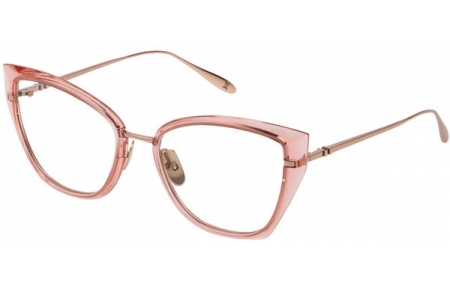 Frames - Carolina Herrera New York - VHN054M  - 08FC  LIGHT PINK SHINY COPPER GOLD