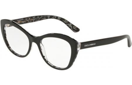 c47a1ba65b Monturas - Dolce & Gabbana - DG3284 - 3203 BLACK ON LEO GLITTER