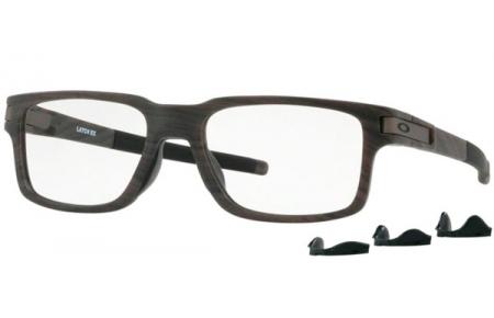 da025c906f442 Frames - Oakley Prescription Eyewear - OX8115 LATCH EX - 8115-03 WOODGRAIN