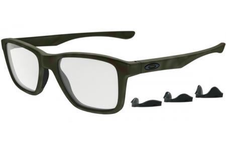 2d42282e19 Monturas - Oakley Prescription Eyewear - OX8107 TRIM PLANE - 8107-05 MATTE  GREEN TORTOISE
