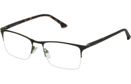 Frames - Police - VPL397 JUNGLE 4 - 0SDN MATTE BROWN GREEN